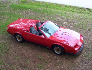 Chevy Camaro Z28 1984 Camaro Z28